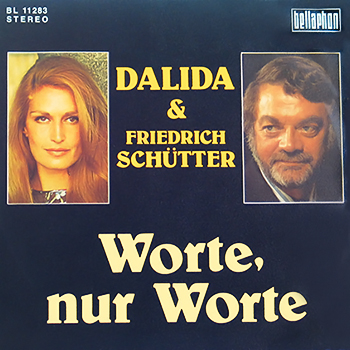 FRIEDRICH SCHÜTTER et DALIDA / 1973