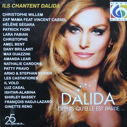 CD : ils ont chanté Dalida