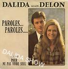Alain Delon et Dalida 1973