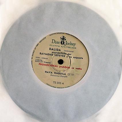 33 t 17 cm : Disc-Jockey TS 305