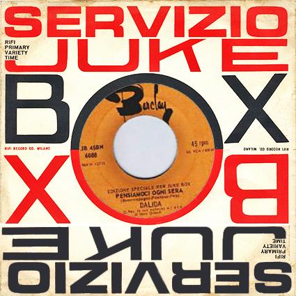 45 t : BN6088 juke box