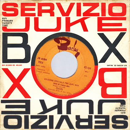 45 T : BN7013 juke box