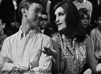 FRANK ALAMO ET DALIDA 1964