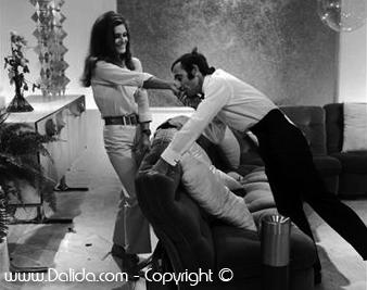 Charles Aznavour  et Dalida  / 1967