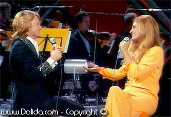 Claude François et Dalida  / 1973