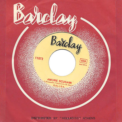 45 t : Barclay ‎– 11072