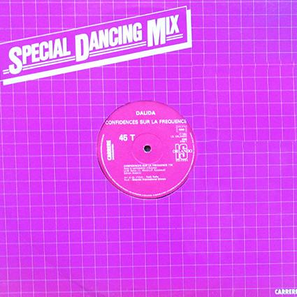 Maxi 45 T promotion radio/discothèque : 8189