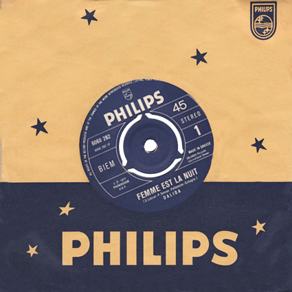 45 t : Philips  6060 282
