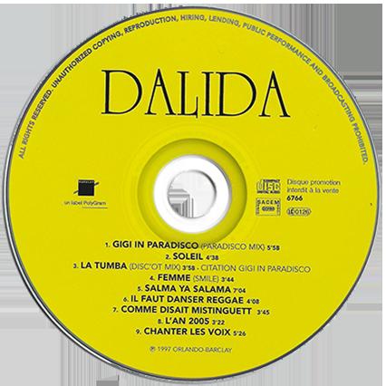 CD 8  titres PROMO