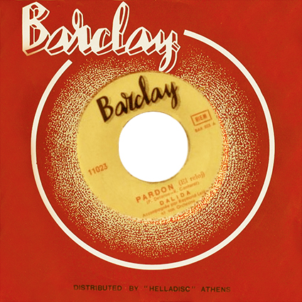 45 t : Barclay ‎– 11023