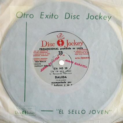 33 T 17 CM : DISC-JOCKEY TS 624