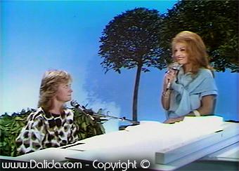 Alice Donna  et Dalida / 1985