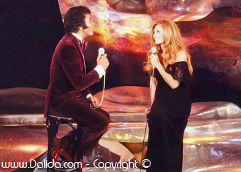 JOHNNY MATHIS ET DALIDA  / 1978
