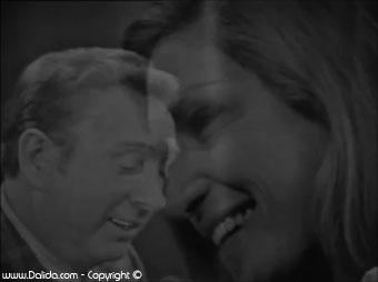 Charles Trenet et Dalida  / 1971