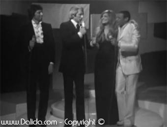 HENRI SALVADOR, SACHA DISTEL, MARCEL AMONT  ET DALIDA / 1973