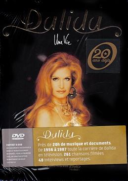 Dalida une vie 8 DVD